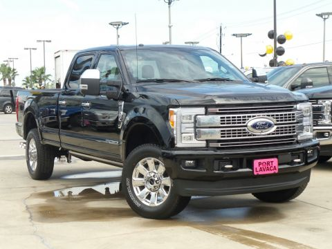 New Ford Super Duty F-350 SRW Platinum