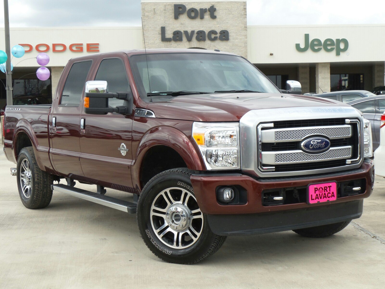 pre owned 2016 ford super duty f 250 srw platinum crew cab pickup in port lavaca gea26969. Black Bedroom Furniture Sets. Home Design Ideas