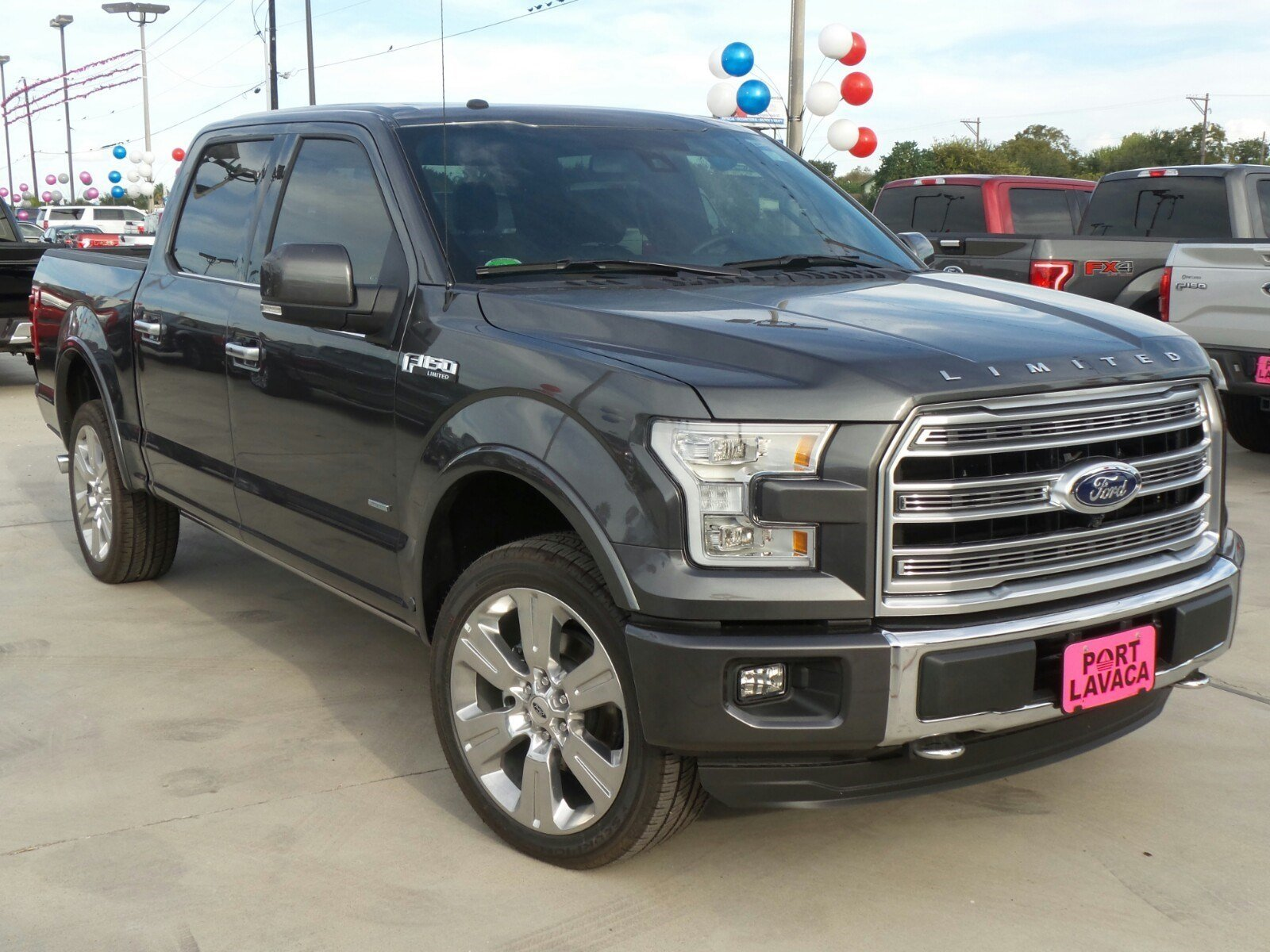 new 2016 ford f 150 limited crew cab pickup in port lavaca fd40924 port lavaca ford. Black Bedroom Furniture Sets. Home Design Ideas