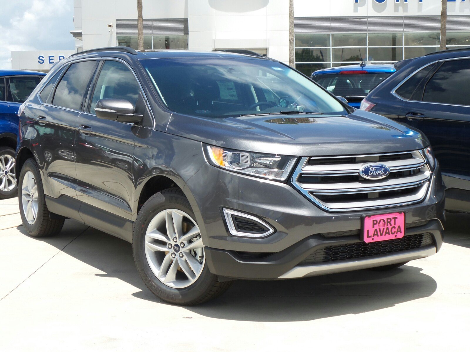 new 2017 ford edge sel sport utility in port lavaca bc21605 port lavaca ford. Black Bedroom Furniture Sets. Home Design Ideas